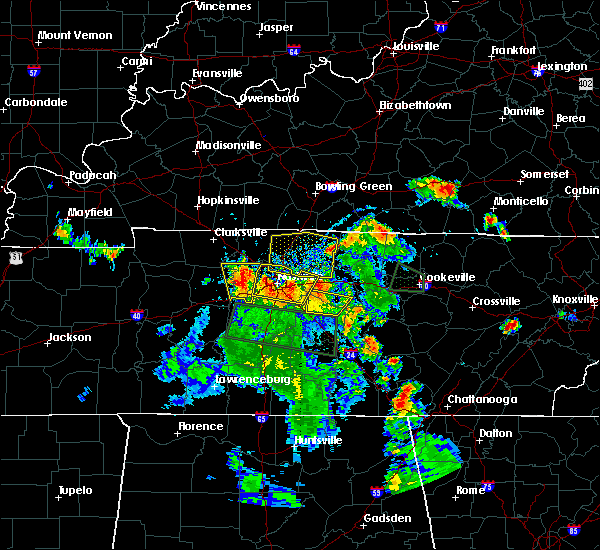Radar Image for Severe Thunderstorms near Gallatin, TN at 6/27/2019 6:08 PM CDT