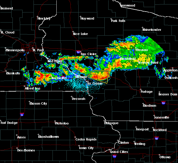 Radar Image for Severe Thunderstorms near Cataract, WI at 6/28/2019 12:42 AM CDT