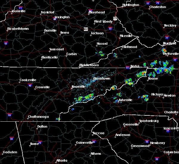 Radar Image for Severe Thunderstorms near Pittman Center, TN at 6/28/2019 1:29 PM EDT