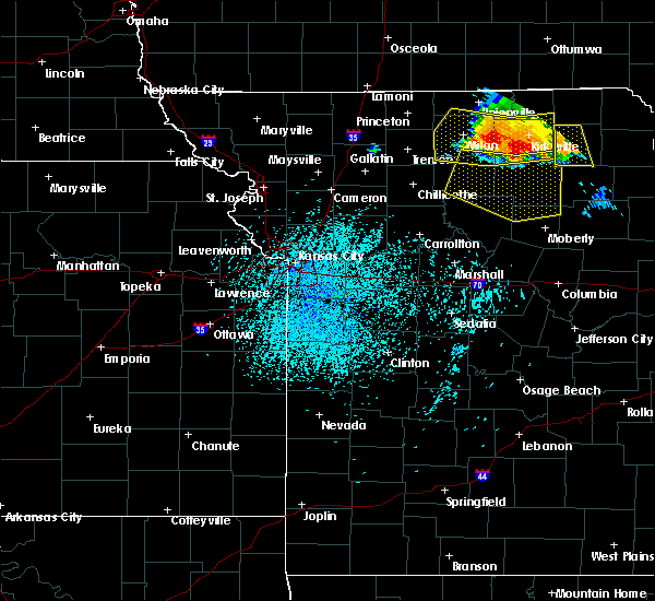 Radar Image for Severe Thunderstorms near Callao, MO at 6/28/2019 1:12 PM CDT