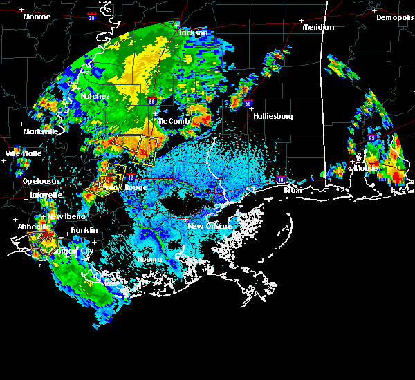 Radar Image for Severe Thunderstorms near Central, LA at 6/28/2019 3:55 PM CDT