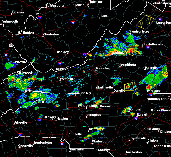 Radar Image for Severe Thunderstorms near Wintergreen, VA at 6/28/2019 5:06 PM EDT