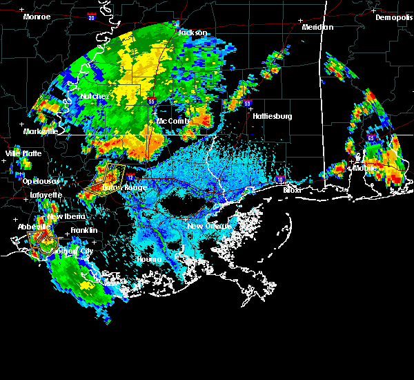 Radar Image for Severe Thunderstorms near Central, LA at 6/28/2019 4:07 PM CDT