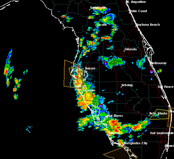 Radar Image for Severe Thunderstorms near Tampa, FL at 6/28/2019 5:20 PM EDT