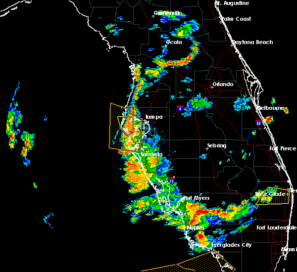 Radar Image for Severe Thunderstorms near Indian Shores, FL at 6/28/2019 5:36 PM EDT