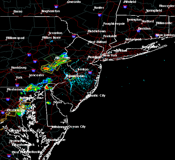 Radar Image for Severe Thunderstorms near DeSales University, PA at 6/28/2019 5:58 PM EDT