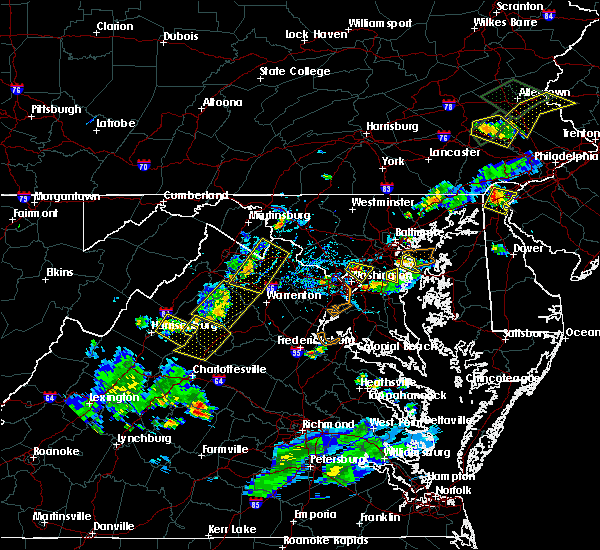 Radar Image for Severe Thunderstorms near Shenandoah, VA at 6/28/2019 6:09 PM EDT