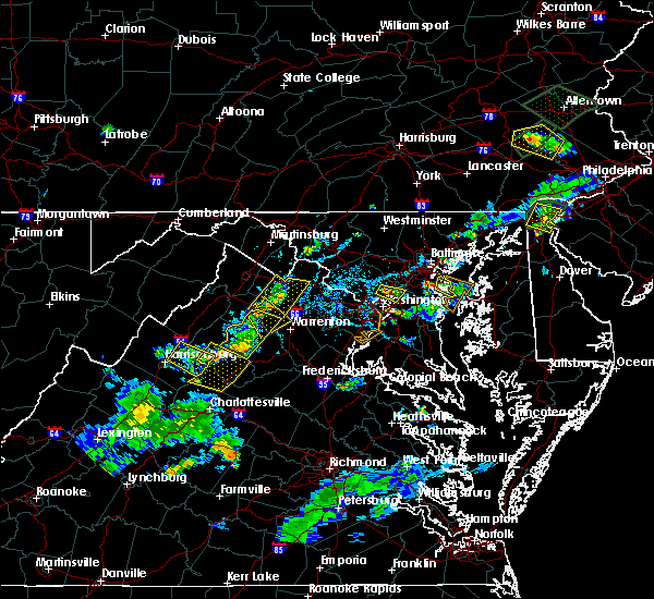 Radar Image for Severe Thunderstorms near Brightwood, VA at 6/28/2019 6:28 PM EDT