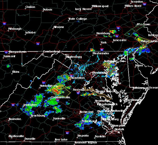 Radar Image for Severe Thunderstorms near Marshall, VA at 6/28/2019 7:11 PM EDT