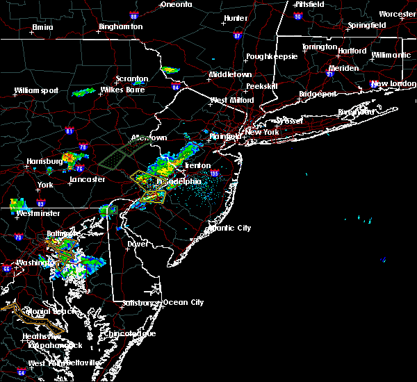 Radar Image for Severe Thunderstorms near Oak Valley, NJ at 6/28/2019 7:29 PM EDT