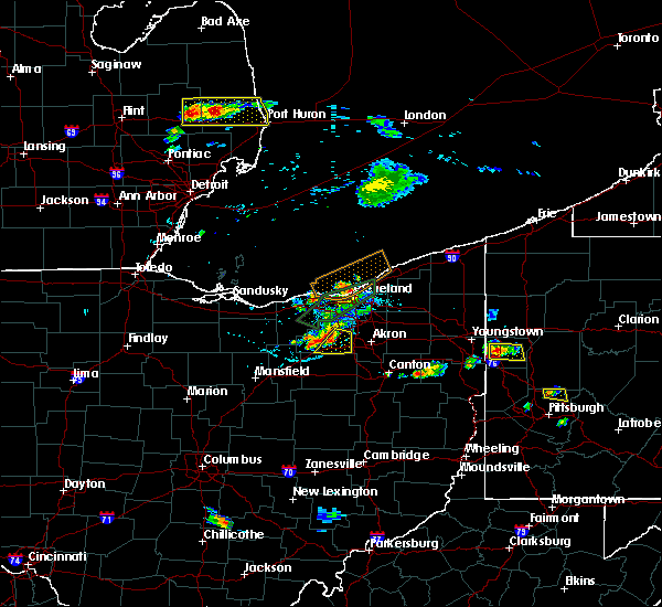 Radar Image for Severe Thunderstorms near Rittman, OH at 6/28/2019 7:34 PM EDT