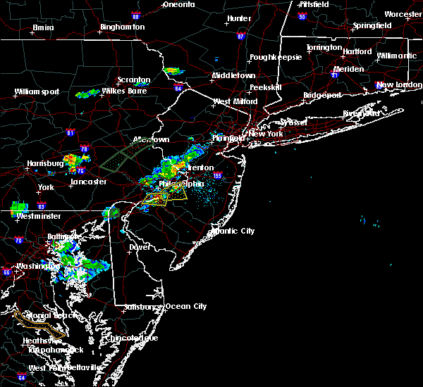 Radar Image for Severe Thunderstorms near Burlington, NJ at 6/28/2019 7:38 PM EDT
