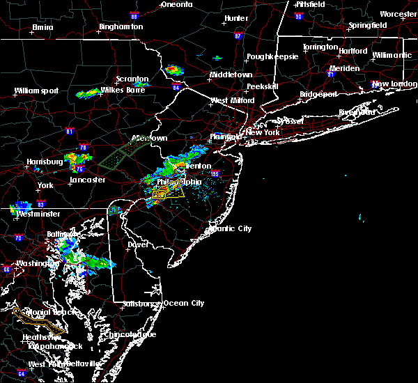 Radar Image for Severe Thunderstorms near Haddon Heights, NJ at 6/28/2019 7:44 PM EDT