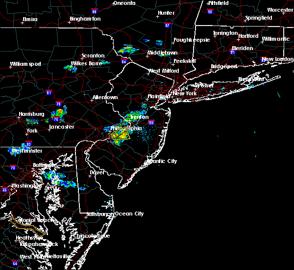 Radar Image for Severe Thunderstorms near Burlington, NJ at 6/28/2019 8:10 PM EDT