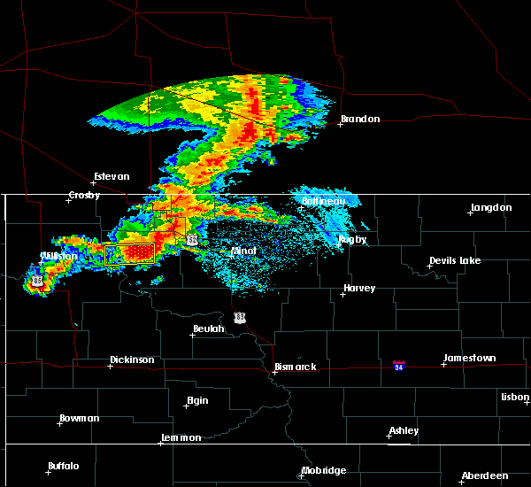 Radar Image for Severe Thunderstorms near Ross, ND at 6/29/2019 5:06 AM CDT