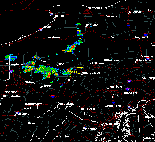 Radar Image for Severe Thunderstorms near Grassflat, PA at 6/29/2019 11:41 AM EDT