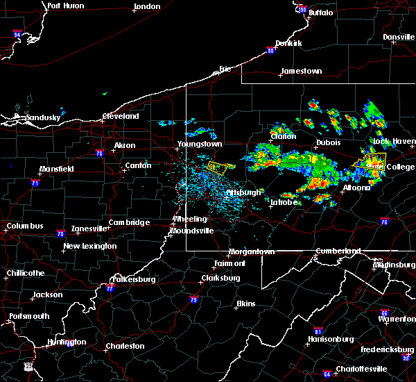 Radar Image for Severe Thunderstorms near Evans City, PA at 6/29/2019 12:10 PM EDT