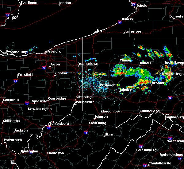 Radar Image for Severe Thunderstorms near Evans City, PA at 6/29/2019 12:20 PM EDT