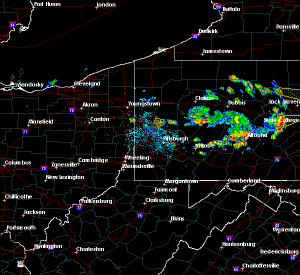 Radar Image for Severe Thunderstorms near Evans City, PA at 6/29/2019 12:32 PM EDT