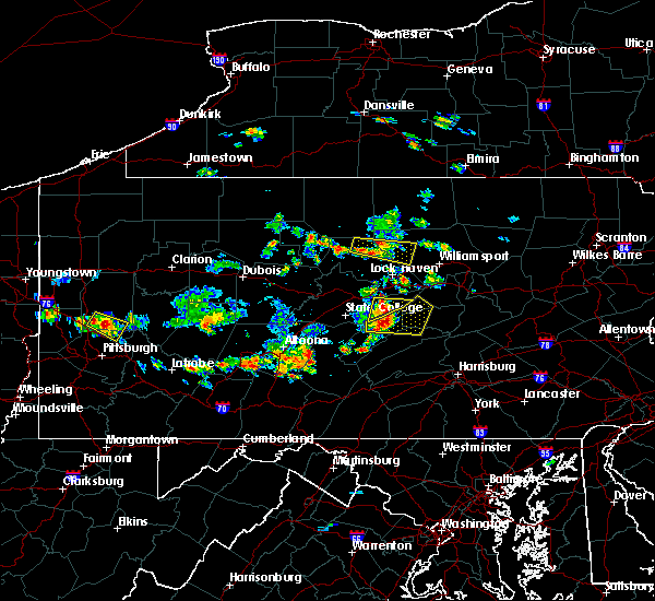 Radar Image for Severe Thunderstorms near Woodward, PA at 6/29/2019 12:49 PM EDT