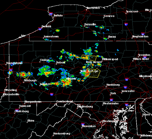 Radar Image for Severe Thunderstorms near Lumber City, PA at 6/29/2019 12:48 PM EDT
