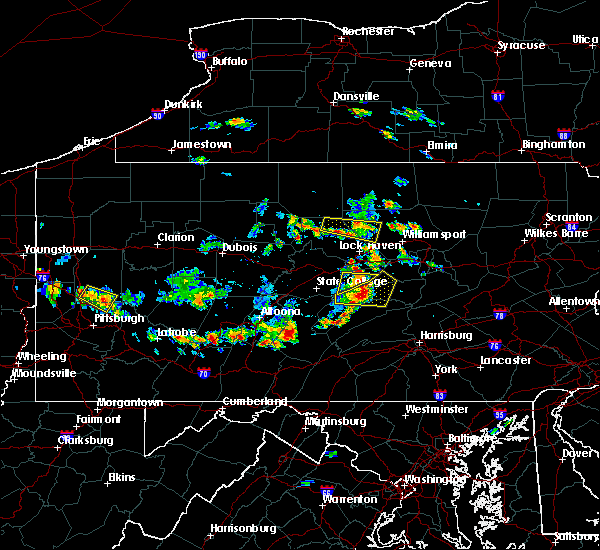 Radar Image for Severe Thunderstorms near Orrstown, PA at 6/29/2019 1:02 PM EDT
