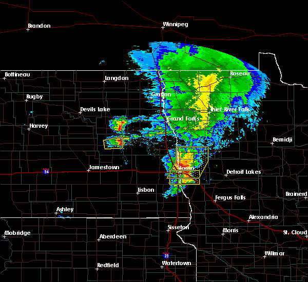 Radar Image for Severe Thunderstorms near Sharon, ND at 6/29/2019 12:56 PM CDT