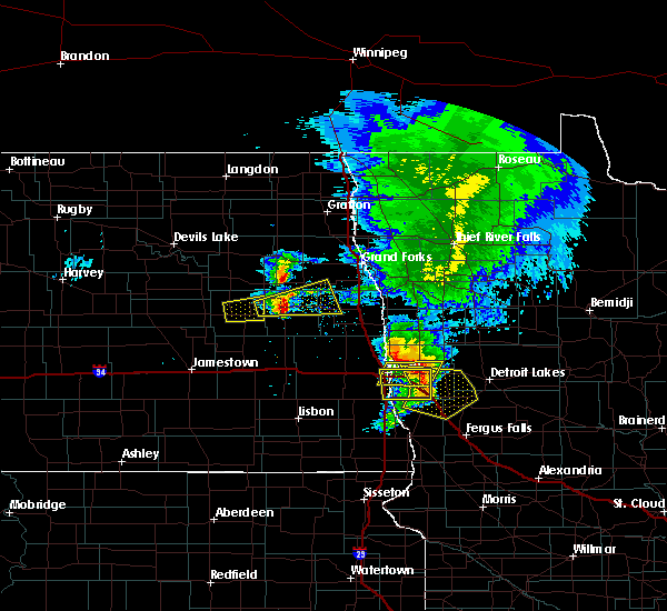 Radar Image for Severe Thunderstorms near Baker, MN at 6/29/2019 1:05 PM CDT