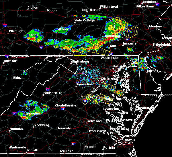 Radar Image for Severe Thunderstorms near Croom, MD at 6/29/2019 2:40 PM EDT