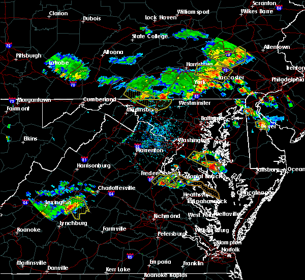 Radar Image for Severe Thunderstorms near King George, VA at 6/29/2019 3:11 PM EDT