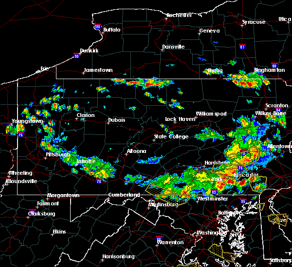 Radar Image for Severe Thunderstorms near Farmersville, PA at 6/29/2019 3:14 PM EDT