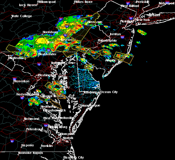 Radar Image for Severe Thunderstorms near Hockessin, DE at 6/29/2019 3:30 PM EDT