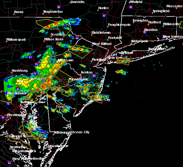 Radar Image for Severe Thunderstorms near Clayton, NJ at 6/29/2019 3:55 PM EDT