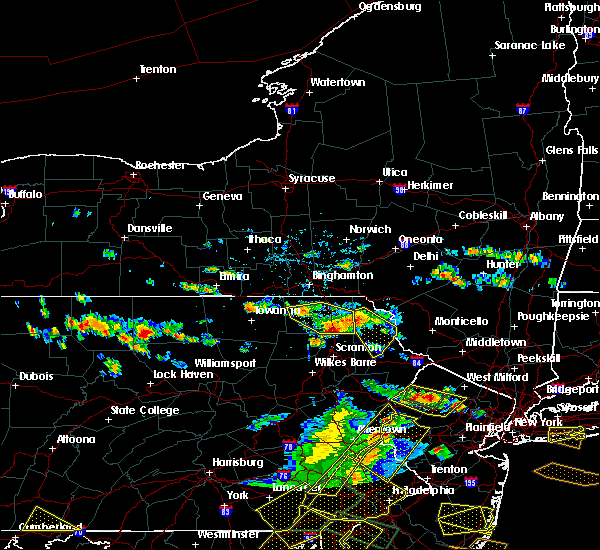 Radar Image for Severe Thunderstorms near Dunmore, PA at 6/29/2019 4:07 PM EDT