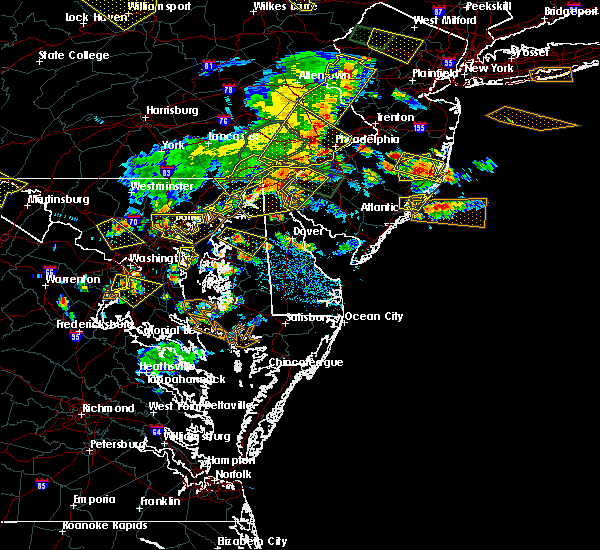 Radar Image for Severe Thunderstorms near Bear, DE at 6/29/2019 4:22 PM EDT