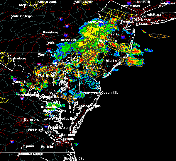 Radar Image for Severe Thunderstorms near Templeville, MD at 6/29/2019 4:47 PM EDT