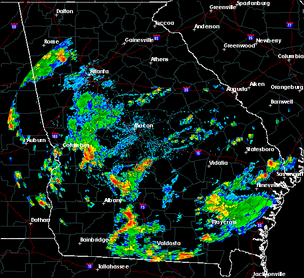 Radar Image for Severe Thunderstorms near Cochran, GA at 6/29/2019 4:55 PM EDT