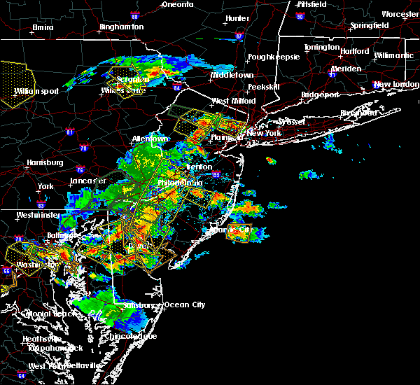 Radar Image for Severe Thunderstorms near Clayton, NJ at 6/29/2019 4:55 PM EDT