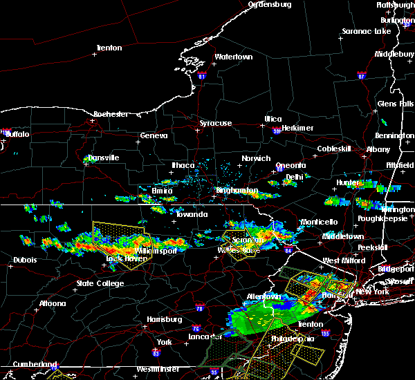 Radar Image for Severe Thunderstorms near Dunmore, PA at 6/29/2019 4:55 PM EDT