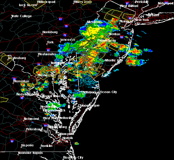 Radar Image for Severe Thunderstorms near Kingstown, MD at 6/29/2019 4:58 PM EDT