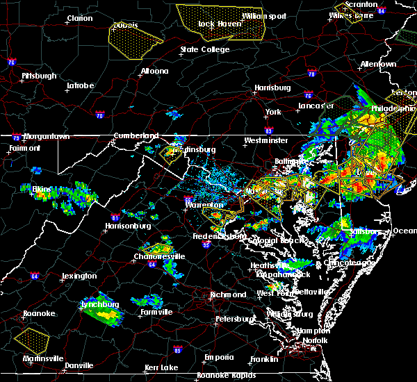 Radar Image for Severe Thunderstorms near Woodmore, MD at 6/29/2019 5:10 PM EDT