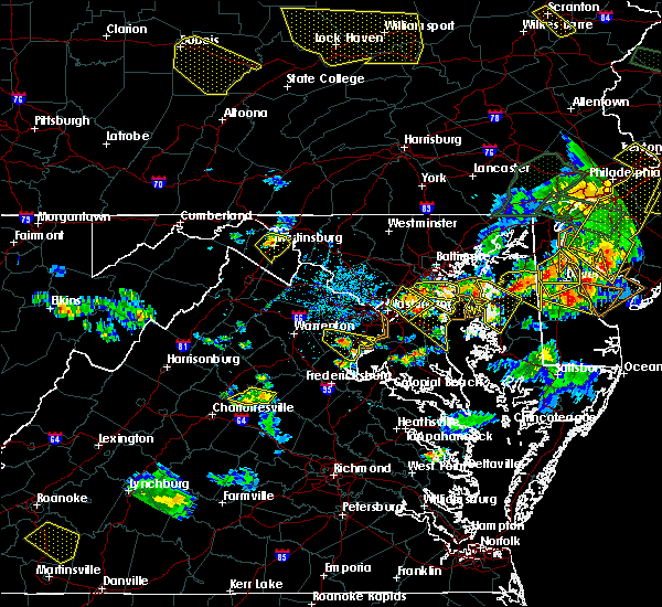 Radar Image for Severe Thunderstorms near Riva, MD at 6/29/2019 5:09 PM EDT