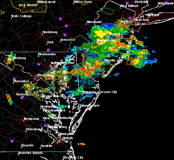 Radar Image for Severe Thunderstorms near Marydel, DE at 6/29/2019 5:16 PM EDT