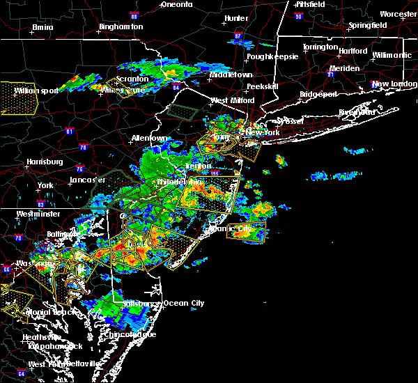 Radar Image for Severe Thunderstorms near Roselle Park, NJ at 6/29/2019 5:18 PM EDT