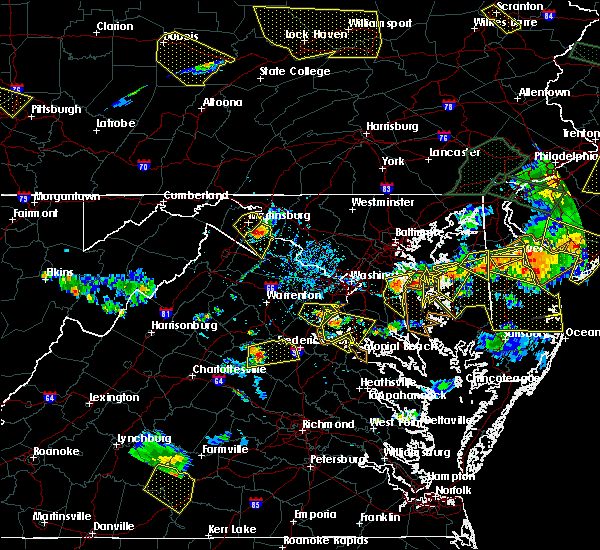 Radar Image for Severe Thunderstorms near Highland Beach, MD at 6/29/2019 5:30 PM EDT