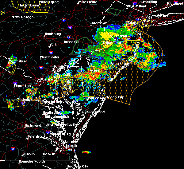 Radar Image for Severe Thunderstorms near Sea Isle City, NJ at 6/29/2019 5:33 PM EDT