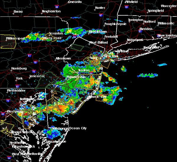 Radar Image for Severe Thunderstorms near Silver Ridge, NJ at 6/29/2019 5:34 PM EDT