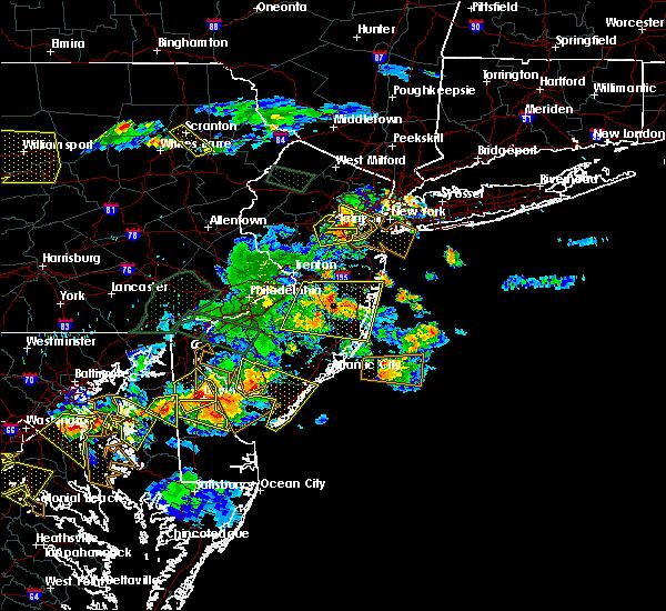 Radar Image for Severe Thunderstorms near Roselle Park, NJ at 6/29/2019 5:34 PM EDT