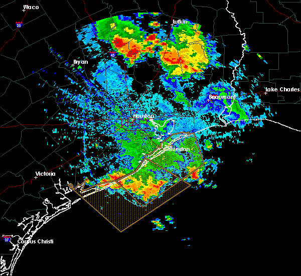 Radar Image for Severe Thunderstorms near Trinity, TX at 6/29/2019 4:34 PM CDT