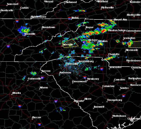 Radar Image for Severe Thunderstorms near Swannanoa, NC at 6/19/2015 3:26 PM EDT